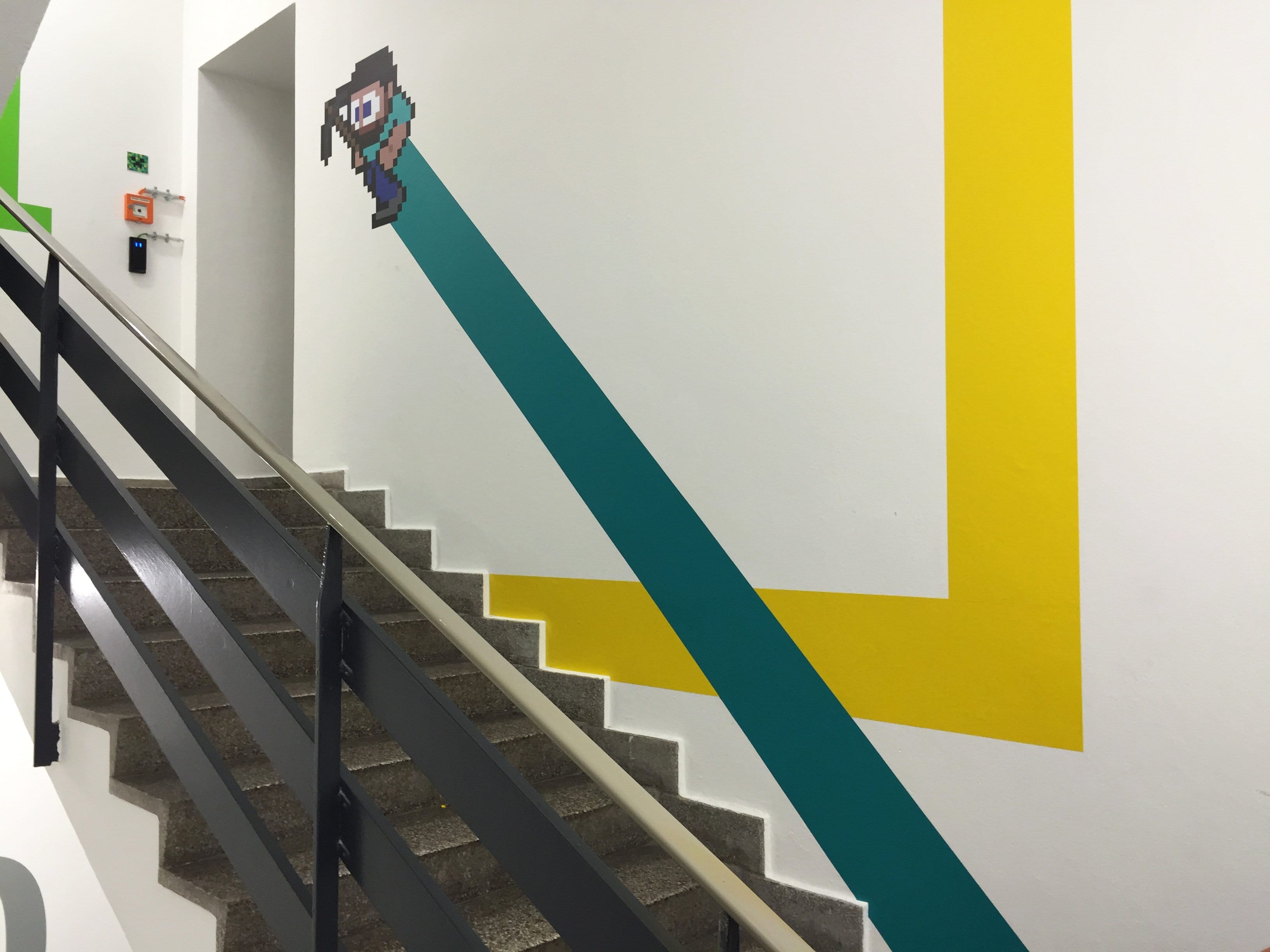Zalando Staircase Graphics